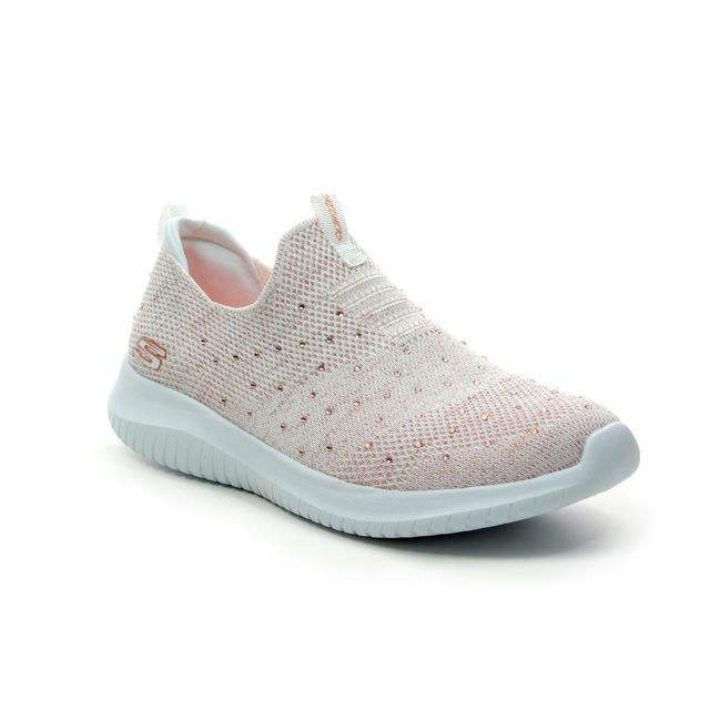 Skechers Trainers - White - rose gold - 13113 ULTRA THRIVE UP