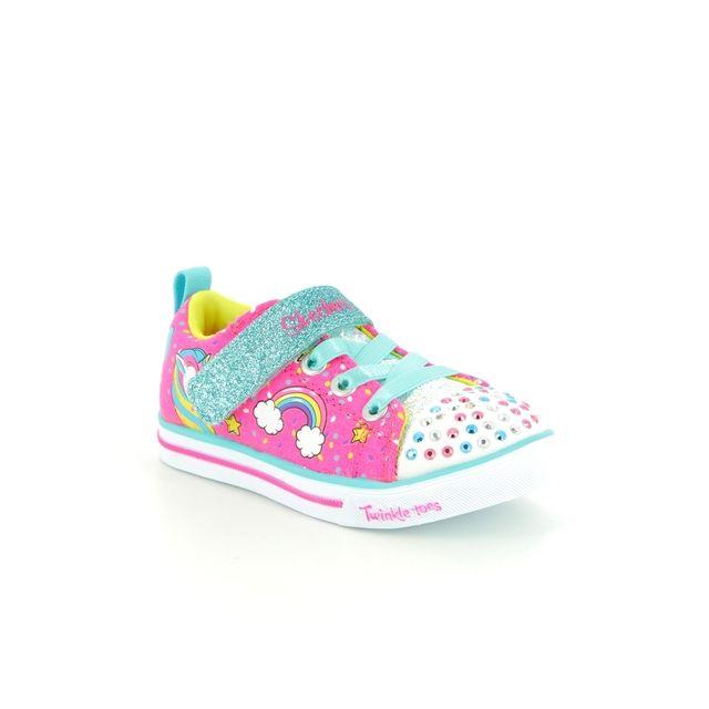 Skechers First Shoes - PINK MULTI - 10988 UNICORN CRAZE