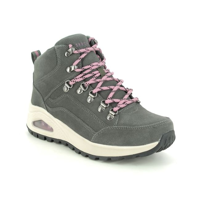 Skechers Walking Boots - Olive Green - 155220 UNO RUGGED