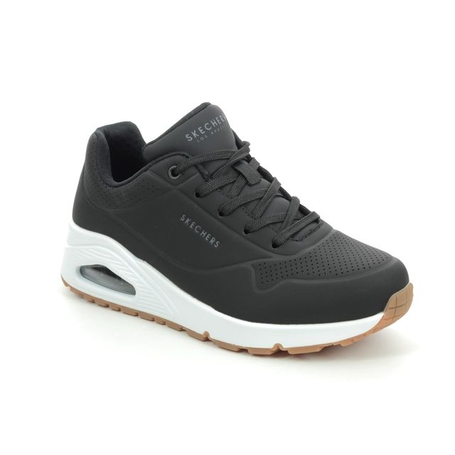 Skechers Trainers - Black - 73690 UNO STAND AIR