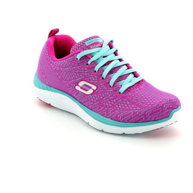 Skechers Valeris Knit 12135 PKLB Pink-Blue trainers