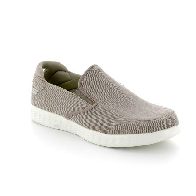 Skechers Casual Shoes - Khaki - 53781 VICTORIOUS