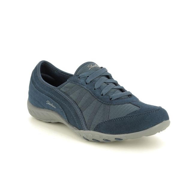 Skechers Lacing Shoes - Navy - 23845 WEEKEND WISHES