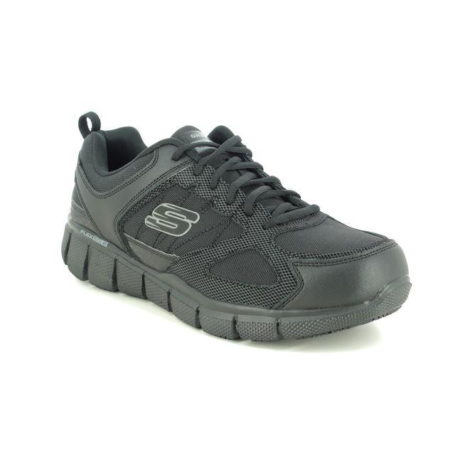 Skechers Trainers - Black - 77152EC WORK TELFIN