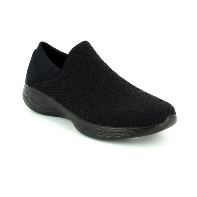Skechers Trainers - Black - 14951/007 YOU