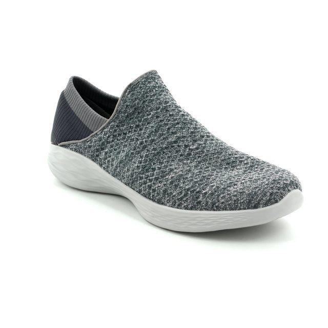 Skechers Trainers - Charcoal - 14951 YOU
