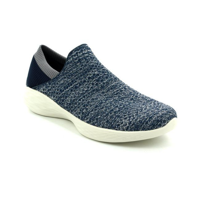 Skechers Trainers - Navy - 14951/417 YOU