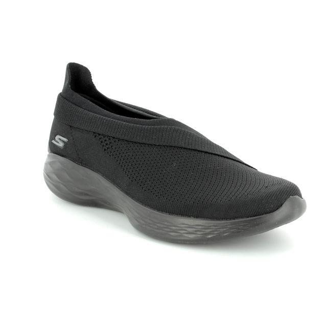 Skechers You Luxe 14955 BBK Black trainers