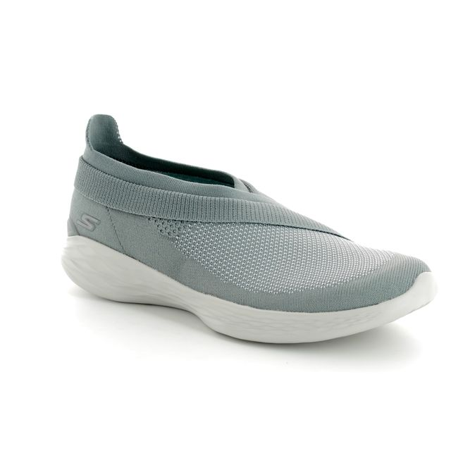 Skechers Trainers - Grey - 14955 YOU LUXE