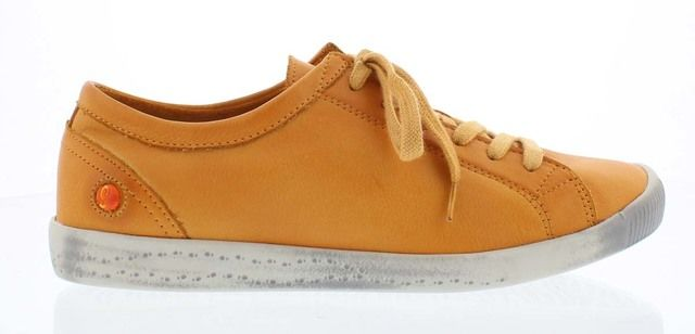 Softinos Trainers - Orange Leather - P900154/588 ISLA