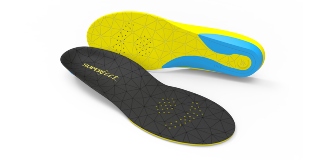 Superfeet Insoles Insoles - Black yellow - FLEX THIN Insoles