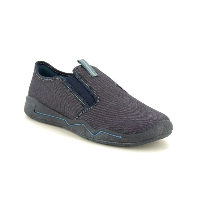 Superfit Slippers - Navy - 00300/80 BENNY  SLIP ON