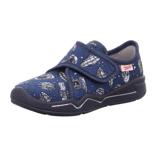 Superfit Slippers - Navy - 00299/80 BENNY  SPACE