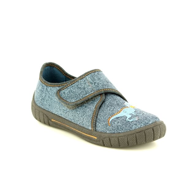 Superfit Slippers - Navy - 00278/20 BILL DINOSAUR