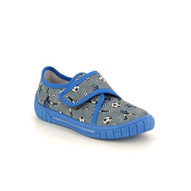 Superfit Slippers - Grey - 00279/21 BILL  FOOTBALL