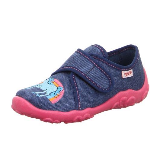 Superfit Bonny Unicorn 00258-80 Navy slippers