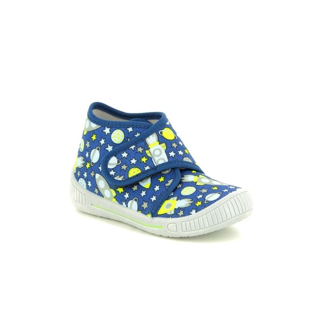 Superfit First Shoes - Navy - 00246/80 BULLE SPACE
