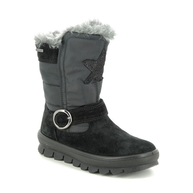 Superfit Boots - Black Suede - 09215/00 FLAVIA GORE TE