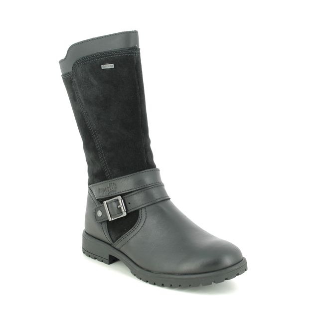 Superfit Boots - Black leather - 1006178/0000 GALAXY GORE 05