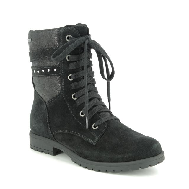 Superfit Boots - Black Suede - 06180/00 GALAXY LACE GTX