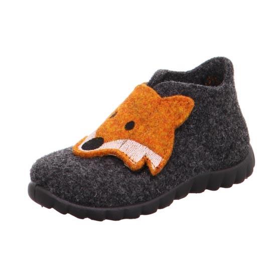 Superfit Slippers - Dark Grey - 00295/47 HAPPY FOX