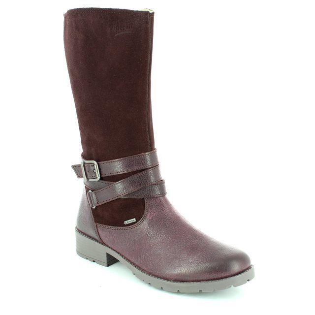 Superfit Heel Gore Tex 00186-66 Aubergine boots
