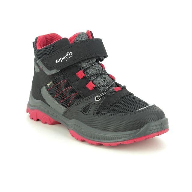 Superfit Jupiter Gtx 1000072-0000 Black-red combi boys boots