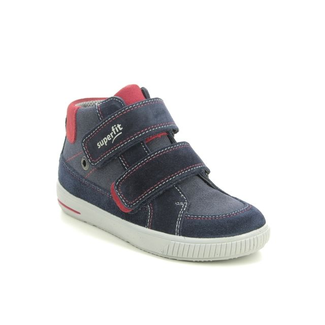 Superfit Infant Boys Boots - Navy Suede - 1000350/8000 MOPPY  BOYS