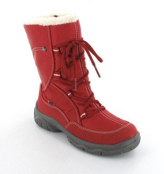 Superfit Romelle 00059-70 Red boots
