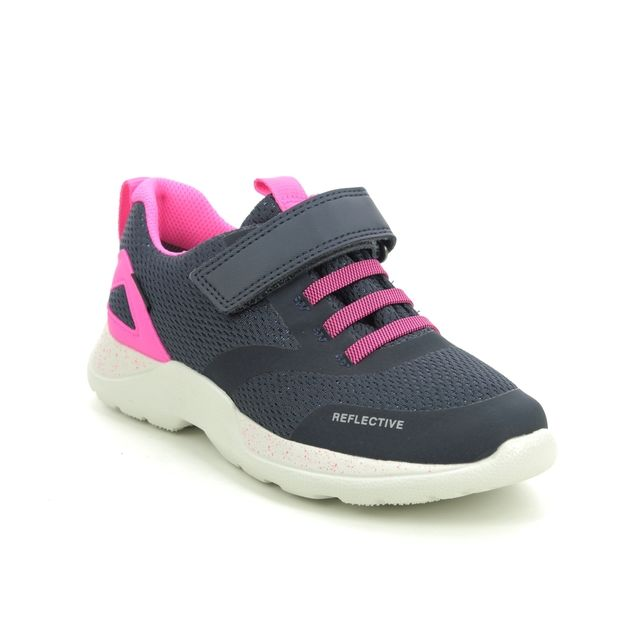 Superfit Trainers - Navy-Pink - 1009209/8020 RUSH JNR G GTX