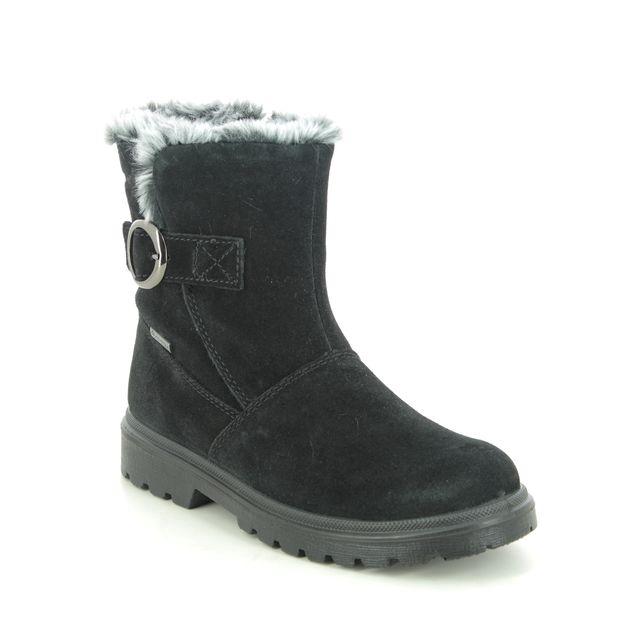 Superfit Boots - Black Suede - 1009455/0000 SPIRIT FUR GTX