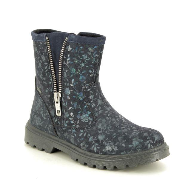 Superfit Boots - Navy Suede - 09456/80 SPIRIT GORE TE