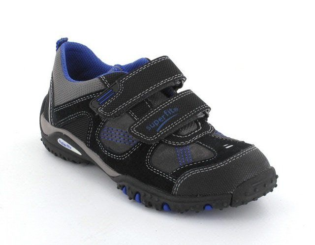 Superfit Sport 00224-03 Black/blue everyday shoes