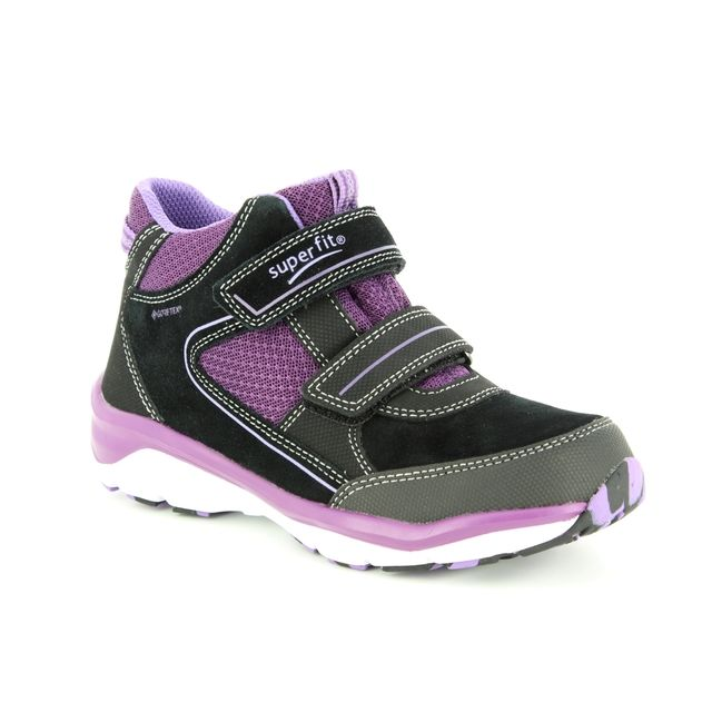Superfit Boots - Black - purple - 09239/02 SPORT5 GTX GIRL