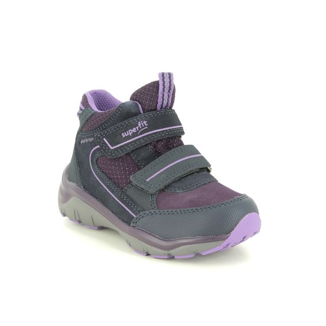 Superfit Boots - Purple suede - 1000239/8010 SPORT5 GTX GIR