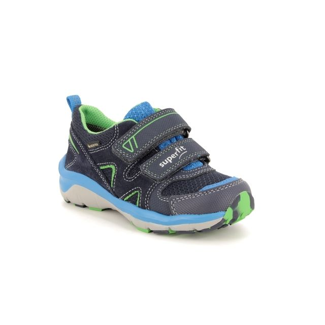 Superfit Trainers - Navy - 09240/80 SPORT5 LOW GORE