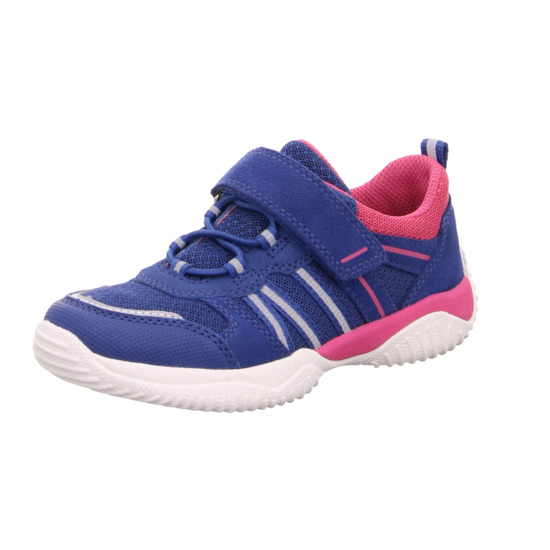 Superfit Trainers - Blue-Pink - 06383/81 STORM