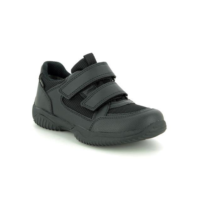 Superfit Everyday Shoes - Black leather - 09381/00 STORM JOE GORE
