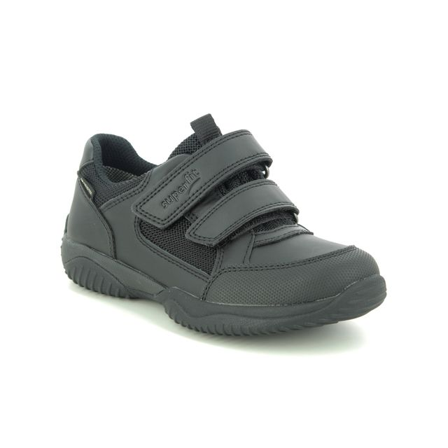 Superfit Trainers - Black leather - 1009382/0000 STORM SHOE GTX