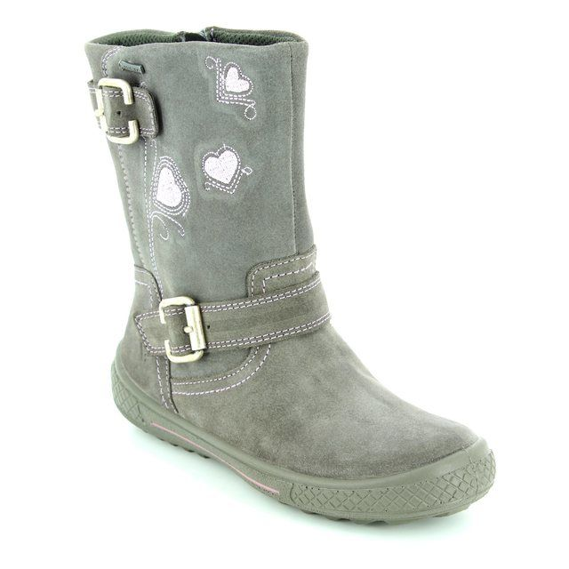 Superfit Tensy Gore Tex 00107-06 Grey suede boots