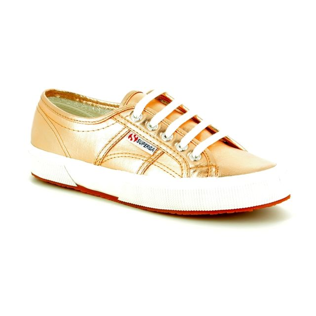 Superga Trainers - Rose - 2750 COTMETU Rose Gold S002HG0