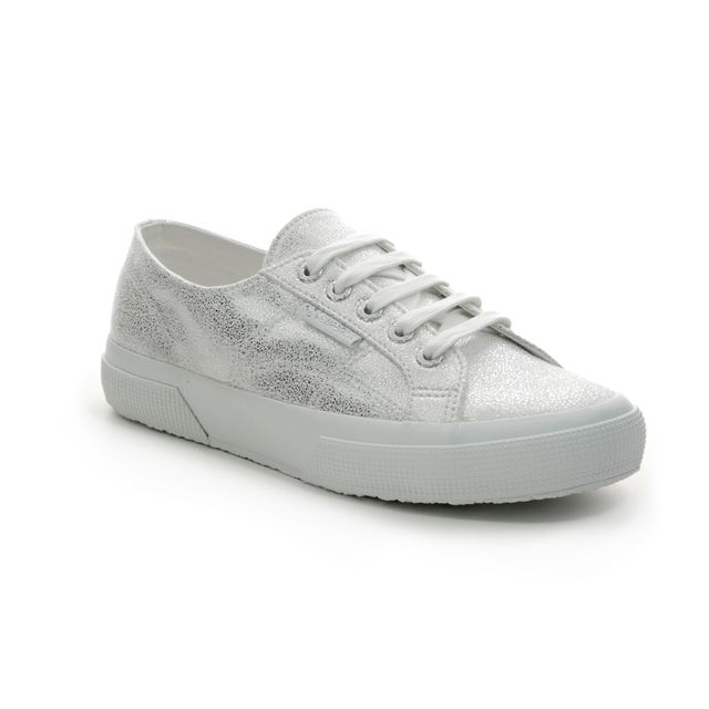 Superga Trainers - White-silver - S00FPX0/G69 2750 JERSEYFR