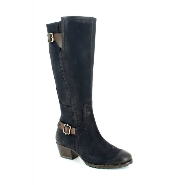 Tamaris Knee-high Boots - Navy - 25512/810 ALEENLONG