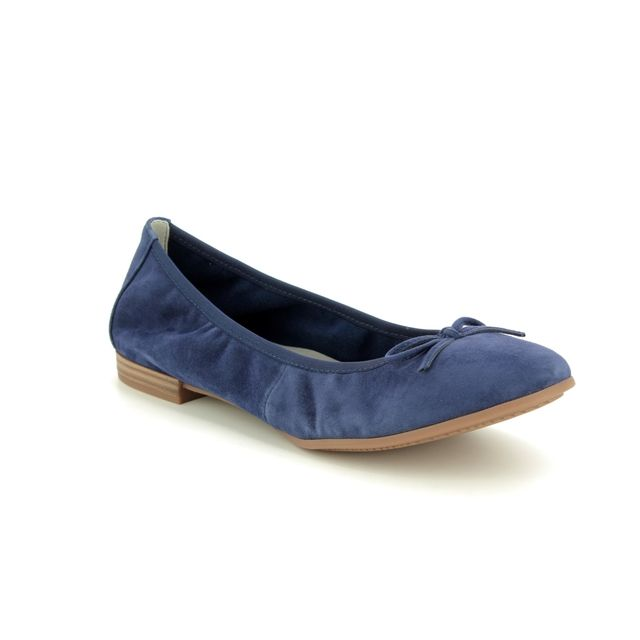 Tamaris Pumps - Navy Suede - 22166/32/810 ALENA  92