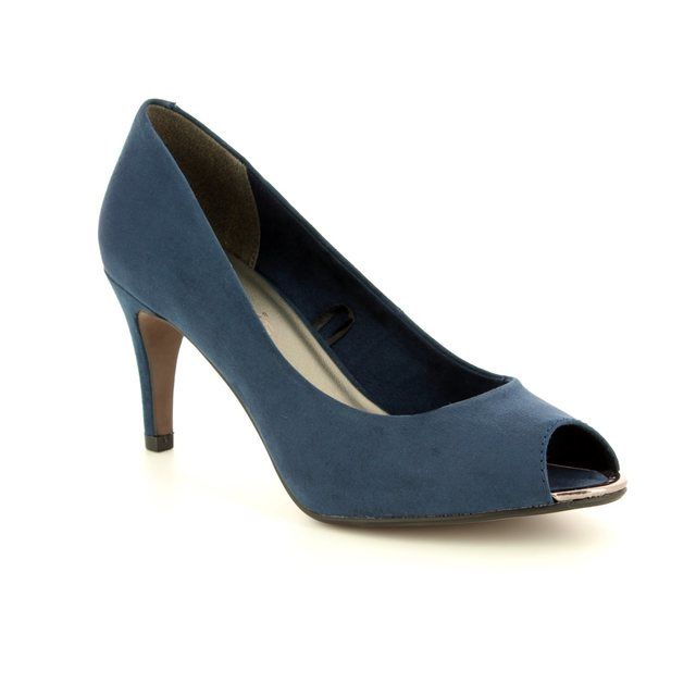 Tamaris High-heeled Shoes - Navy - 29302/20/805 ANAYA