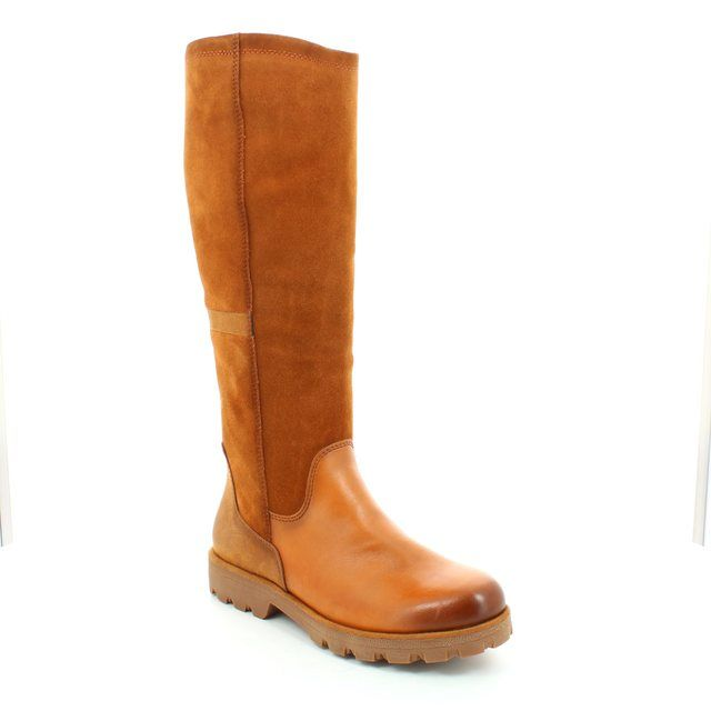 Tamaris Angelana 25600-392 Tan long boots
