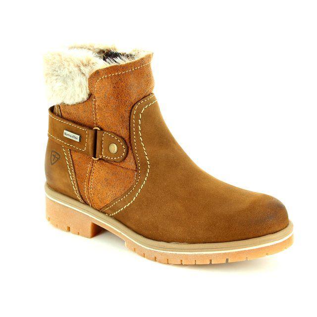 Tamaris Ankle Boots - Brown multi - 26449/304 AON SYMPATEX