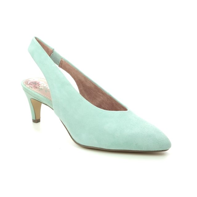 Tamaris Slingback Shoes - Mint green - 29502/24/760 ARES