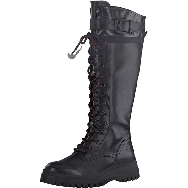 Tamaris Knee-high Boots - Black - 25620/25/001 ARTEMIS