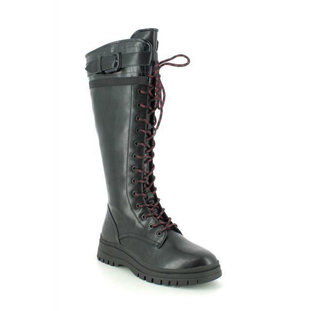 Tamaris Knee-high Boots - Black - 25620/25/001 ARTEMIS